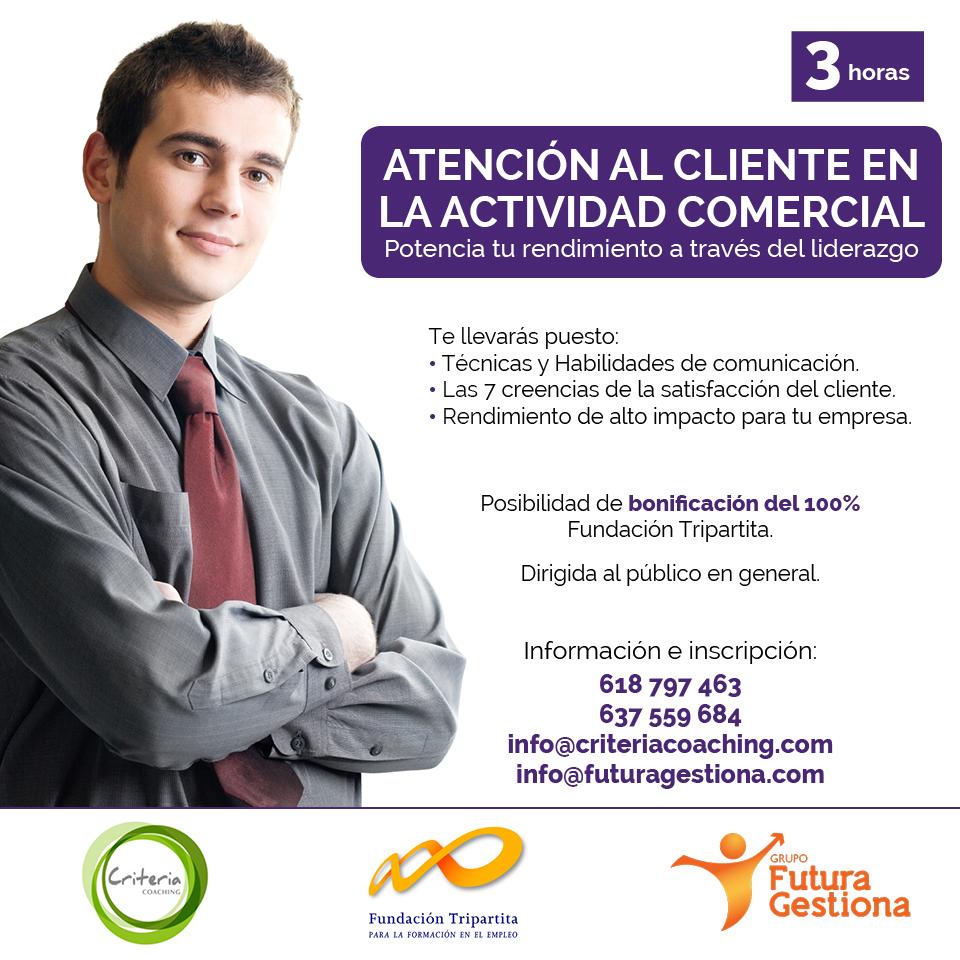 Atención al cliente en la actividad comercial